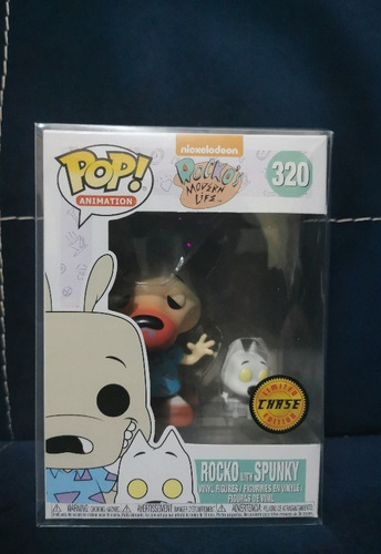 Funko Pop! Rocko With Spunky Chase