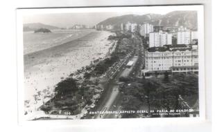 Foto Postal Colombo 120 Santos Praia Do Gonzaga