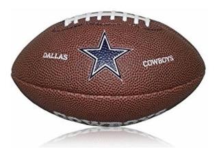 Mini Balón Wilson De Fútbol Americano Nfl Dallas Cowboys