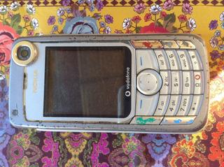 Celular Nokia Vodafone Antigo Funcionando Perfeitamente !