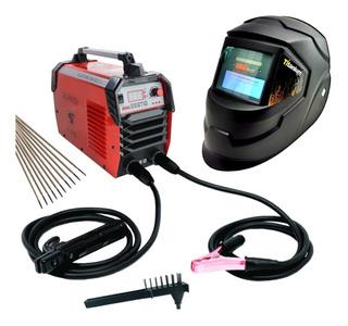 Maquina De Solda Tig Inversora Mma 268 C Máscara Automática