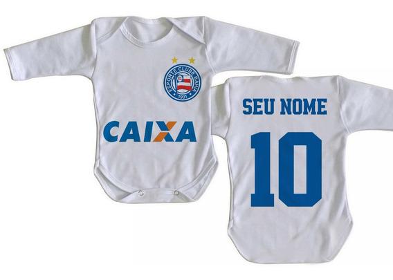 Body Criança Nenê Personalizado Com Nome Bahia Salvador