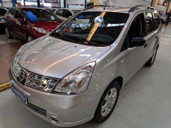 Nissan Grand Livina 1.8 S Flex Prata 2012 (completa)