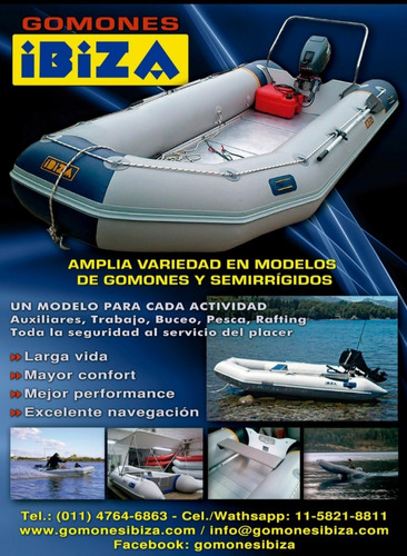 Canobote Inflable Ibiza