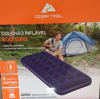 Colchão Inflável Solteiro Ozark Trail