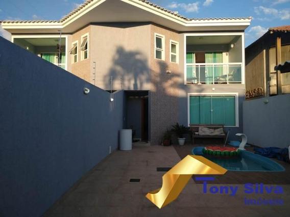 Aluguel Fixo!linda Casa 4 Quartos Com Piscina No Jardim Excelsior Cabo Frio - 1066