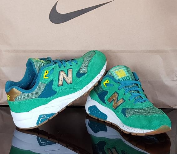 Zapatillas New Balance 580 Elite Edition Verdes Niño N°35 Es