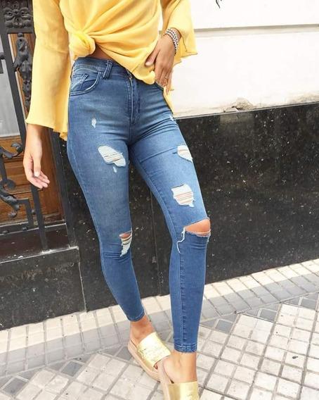 Jeans Mujer Elastizado