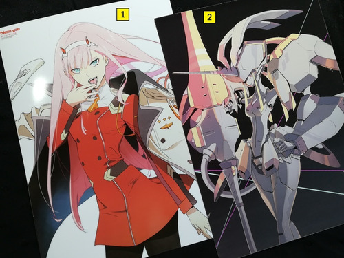 Posters A3 29x42cm Anime Darling In The Franxx #1 Niponmania