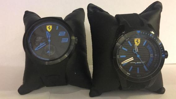 Relógio Scuderia Ferrari Masculino Borracha Preta - 830422