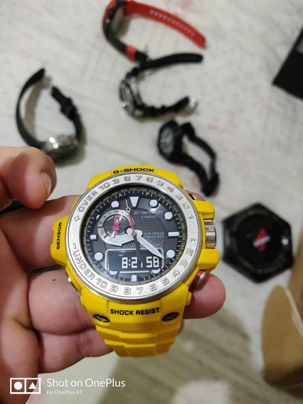Casio G-shock Gulfmaster Amarelo (novo)