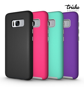 Funda Case Armor Colores Resistente Diseño Galaxy S8