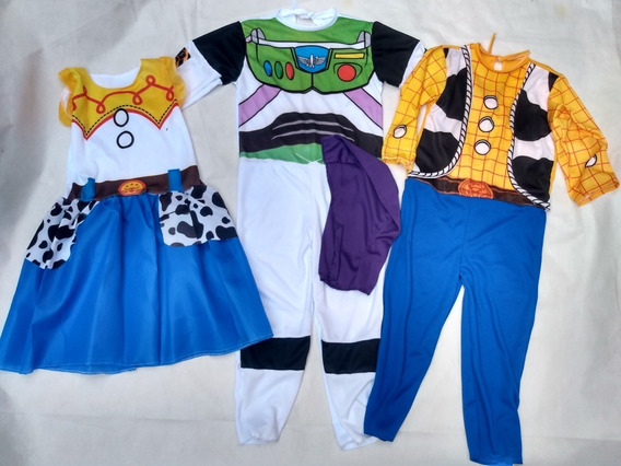 Disfraz X2 Woody Y Buzz Lightyear Toy Story Regalo Combo
