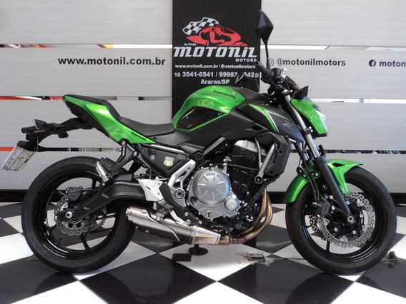 Kawasaki Z 650 Abs Verde 2018