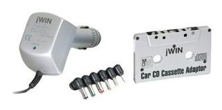 Jwin Jack401 Cd / Kit De Adaptador De Casete Minidisc Par...