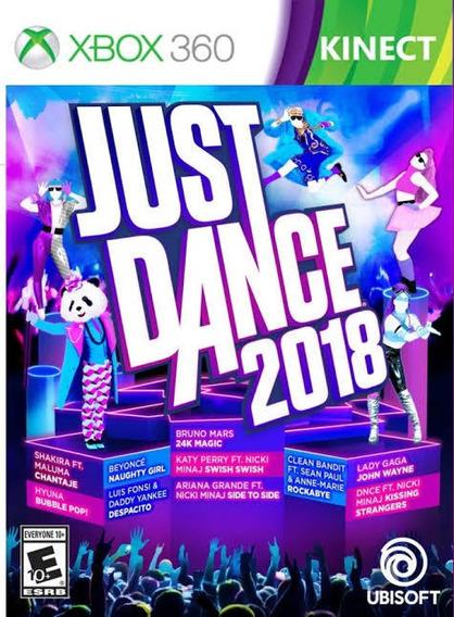 Jogos De Xbox 360 Mídia Digital Just Dance 2018