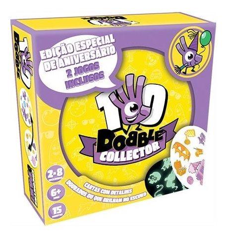 Jogo Carta Dobble Collector Edição Especial Dob010 Galapagos