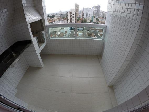 Apartamento Próximo À Praia Com 2 Dormitórios Para Alugar, 73 M² Por R$ 1.800/mês - Campo Da Aviação - Praia Grande/sp - Ap2724