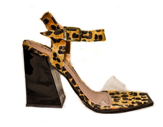 Sandalia Tampa Animal Print By Luciano Marra Ss20