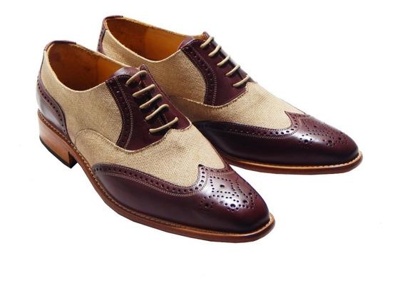 Dublin No. 2666 Zapato Brogue Combinado Priamo Italy