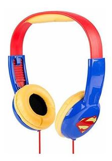 Auriculares Niños Limitador De Vol. Superman [1kkhf53o]