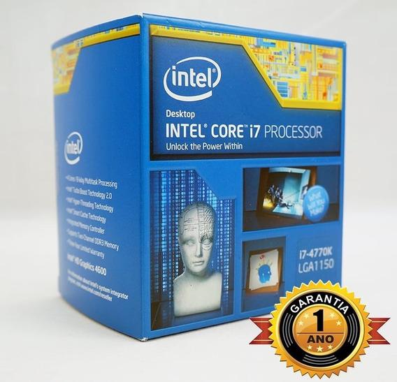 Processador Intel I7-4770k 3.5ghz Lga 1150 Garantia 1 Ano