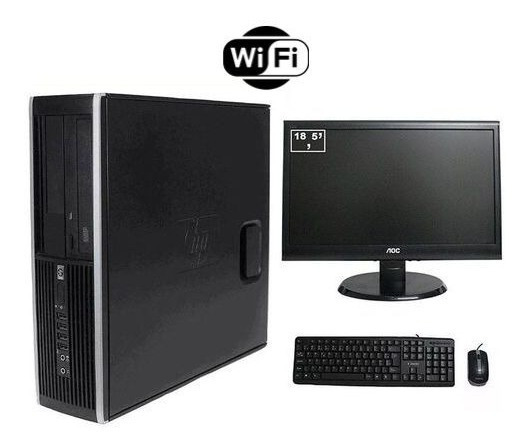 Pc Corporativo Itautec 3330 + Monitor 18 Pol 8gb Ram +wifi