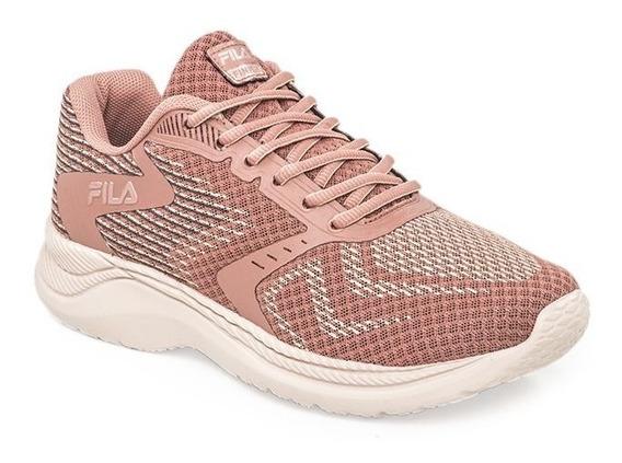 Fila Zapatillas Running Mujer Finish W Rosa Old