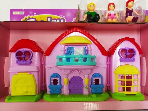 Set Casa The Joy Juguete Con Accesorios