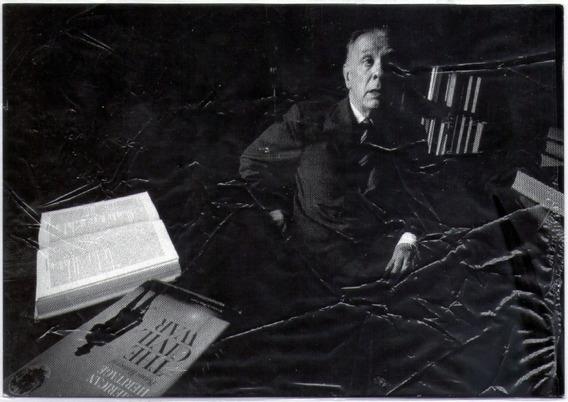 Postal Oficial Correo Argentino - Jorge Luis Borges