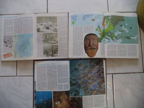 6 Fasciculos Enciclopédia Dos Mares/mundo Submarino/cousteau