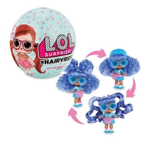 Muñeca L.o.l. Lol Surprise Hairvibes Pelo Intercambiable Ful