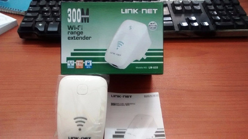 Extensor Wifi Repetidor 300mbps Router Amplificador Inalambr