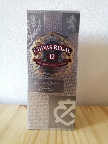 Whisky Chivas Regal 12 Años - 1 Litro - Producto Nuevo
