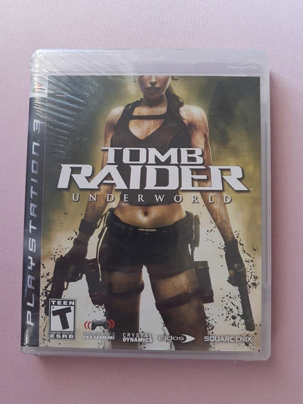 Tomb Raider Under World Play 3 Americano E L A C R A D O!!