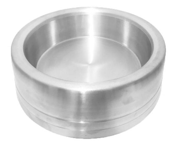 Comedouro Alumínio Pesado Grande 2 Litros Para Cães Cachorros - O Mais Barato Do Mercado!