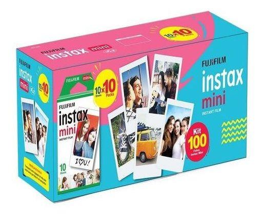 Kit Filme 100 Poses Instax Mini Fujifilm Fotos