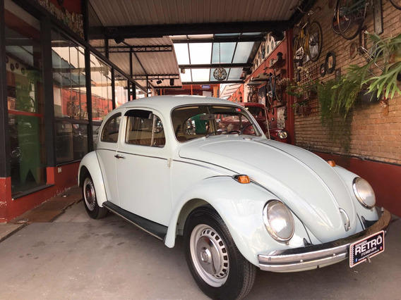 Volkswagen Fusca 1500 1972 Garagem Retrô