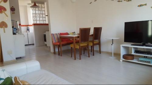 Apartamento Com 2 Dormitórios Para Alugar, 80 M² Por R$ 3.500,00/mês - Boqueirão - Santos/sp - Ap6851