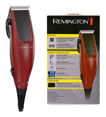 Cortadora Pelo Remington 12 Piezas Acero Inoxidable Hc1095