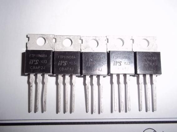 Grid Tie - Mosfet Original Ftp11n08a - 5 Unidades Oferta.