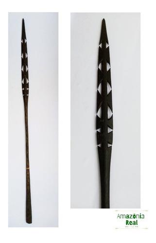 Lança Indígena Matis Mushabo/ Indigenous Amazon Spear.
