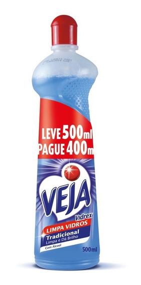 Veja Vidrex Tradicional Squeeze 500ml 20% De Desconto
