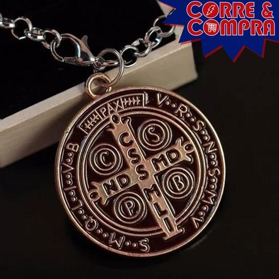 Colar Constantine Amuleto Seriado Cruz São Bento Fretegratis