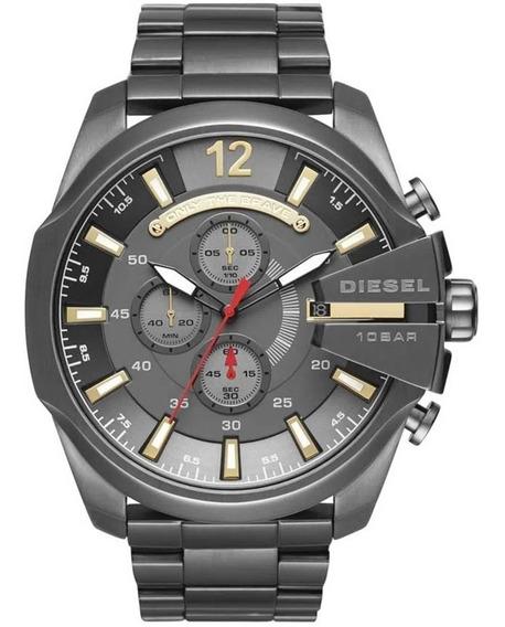 Relógio Diesel Dz4421 Chumbo Original Completo Com Caixa
