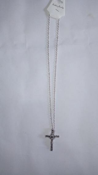 Cordao Com Crucifixo, Cod. 00076