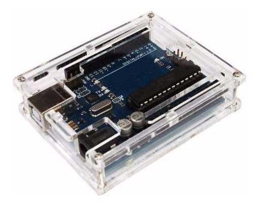 Gabinete Caixa Case Box Arduino Uno De Acrílico
