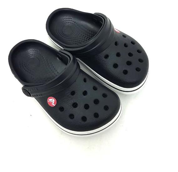 Sandália Infantil Crocs Crocband Classic Black - X10998