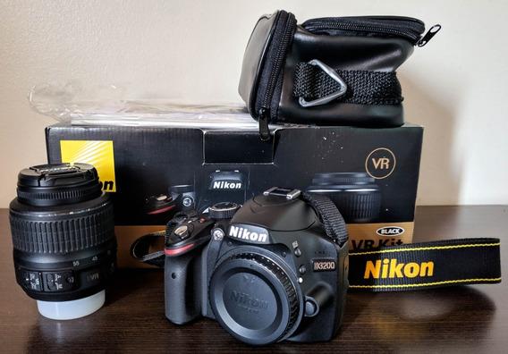 Câmera Nikon D3200 18-55 Vr Kit (seminova)