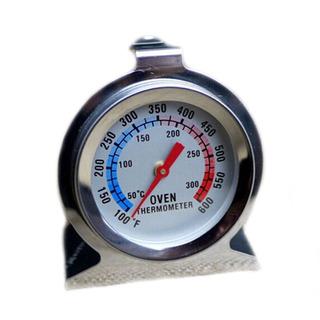 Termometro Analogico En Acero Inox Para Horno 50°c A 300°c
